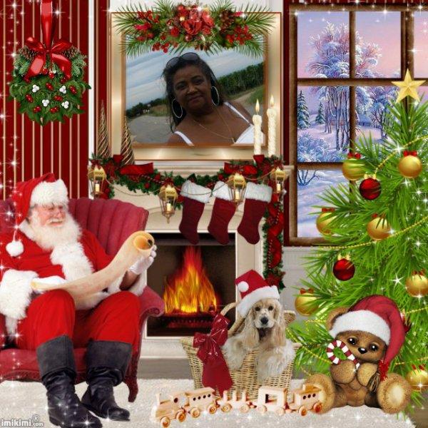 Montage cadeau spécial Noël de mon amie Annick6