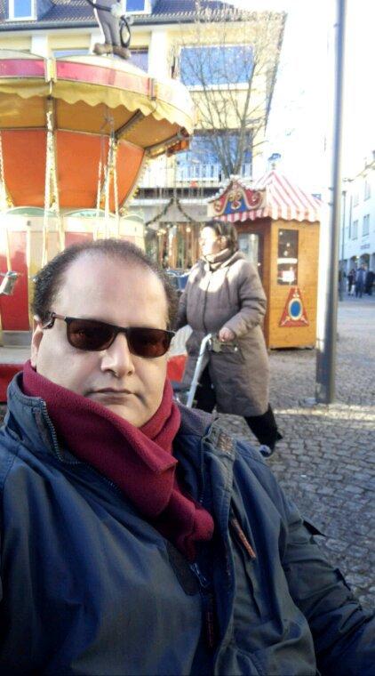 CHRISTMAS BAZAR PRESIDENT AGHA HASSAN SYED AND JAMAL TAKKKO