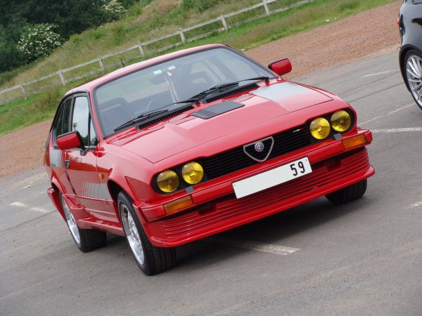 Alfa Romeo GTV 6 Production 1983