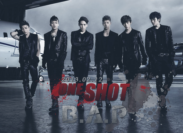 B.A.P - One Shot ~ One shot, Let me tell you something that you already know You just get the rock to me You na mean ? One shot ! Gulbokhal tenga nareul dulleossan deoche geollyeodeul tenga Only one shot ! ♪