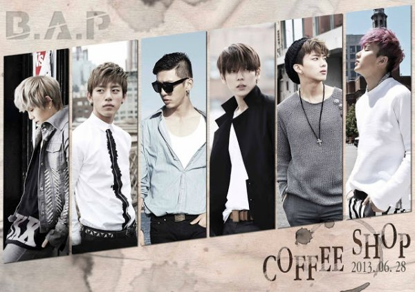B.A.P - Coffee Shop ~ Monday, tuesday, everyday…Amureochi anke georeoon i coffee shop ♪