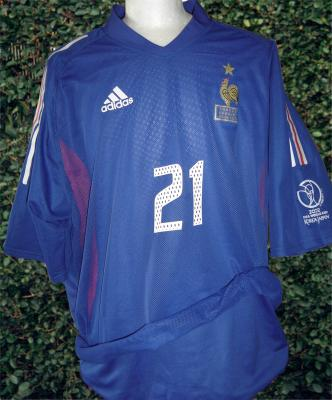Blog de jumeaudf collection de mes maillots de l 39 equipe de france de football - Coupe du monde de foot 2002 ...