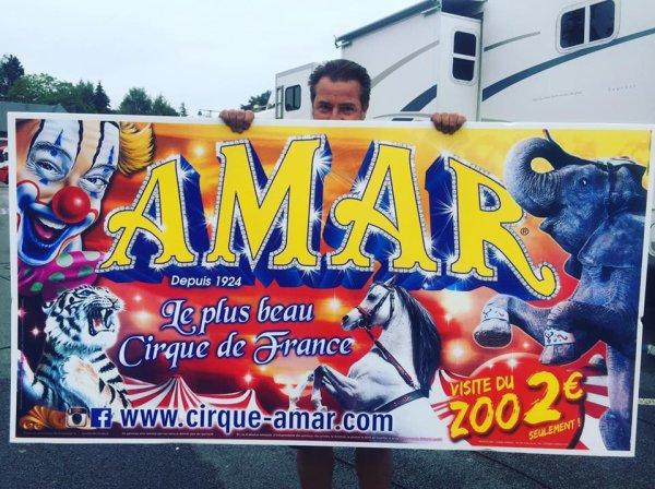 nouvelle quille au cirque AMAR !!!!