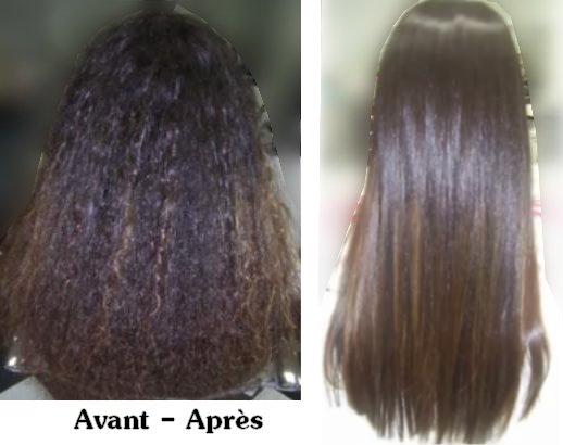 avant aprs - Coloration Apres Lissage Brsilien