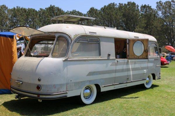 camper porsche  1955