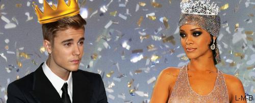 Justin et Rihanna les célébrités les mieux habillées de l'année