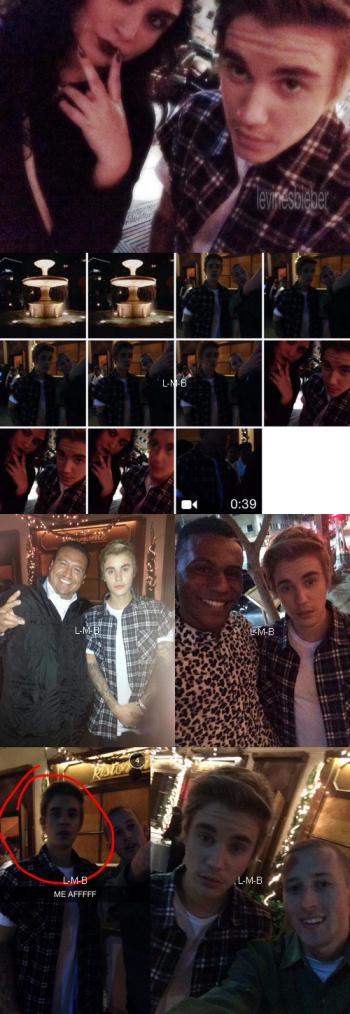 Photos et vidéo de Justin + Photo et vidéo postées sur Instagram et fahlo