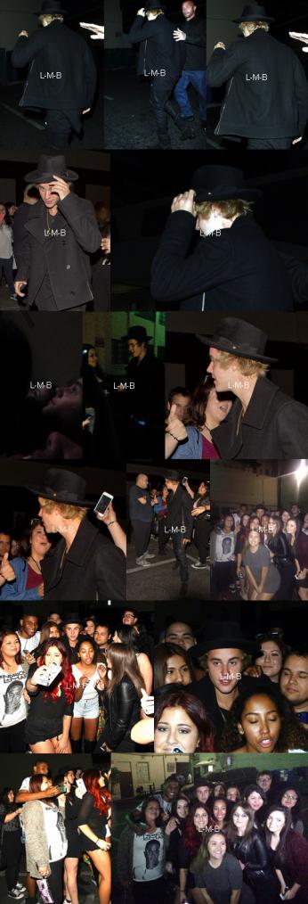 Photos et vidéos de Justin (suite) + Post ajouté sur Fahlo