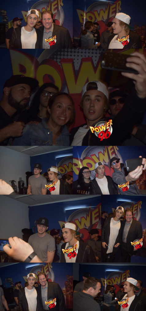 Justin sur Power 96