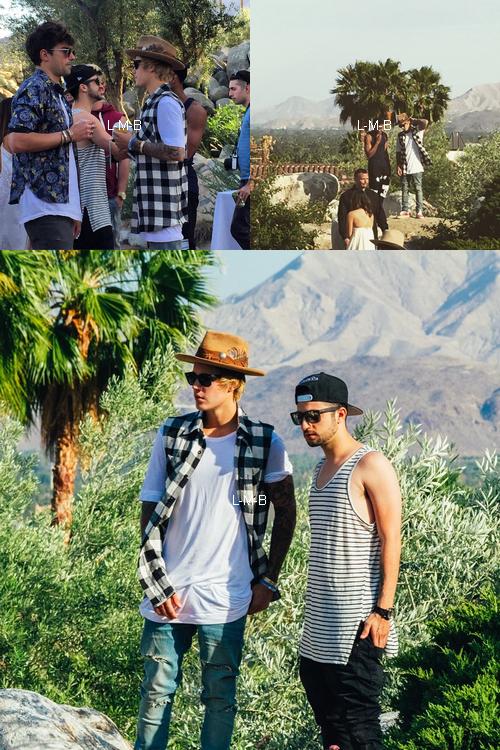 Photos et vidéos de Justin (suite) + Vidéos postées sur Vine