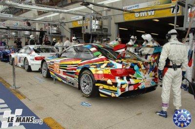 BMW le Mans 2010