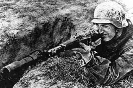 GRENATENWERFER 98K  ALLEMAND WW2