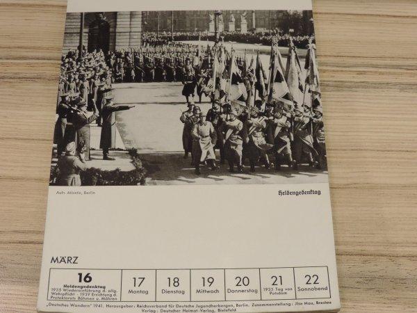 DEUTSCHES WANDERN 1941 ALLEMAND WW2