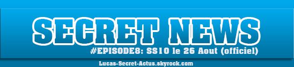 #SECRETNEWS - Episode 8 : Officialisation du lancement + Tournage du documentaire