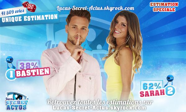 #ESTIMATIONS SPECIALE - Semaine 8 : Bastien / Sarah