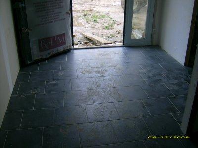 J 285 le carrelage de l 39 entr e construction de notre maison - Carrelage entree maison ...