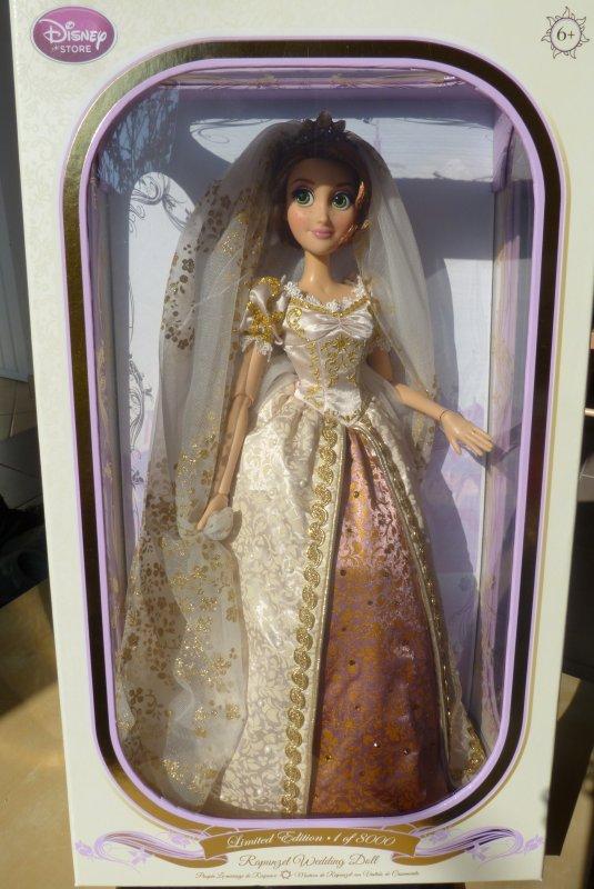 Disney Store - Poupée Raiponce mariée édition limitée