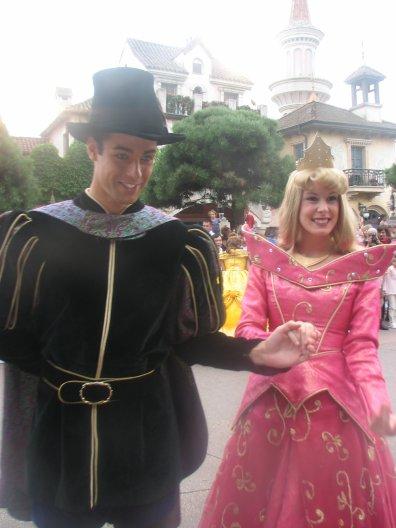 Disneyland 1er aout 2010 - Mickey aurore et philippe
