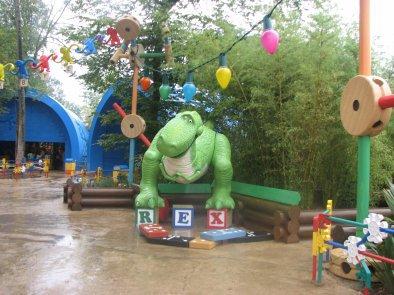 Disneyland 15 aout 2010 - Toy Story Playland