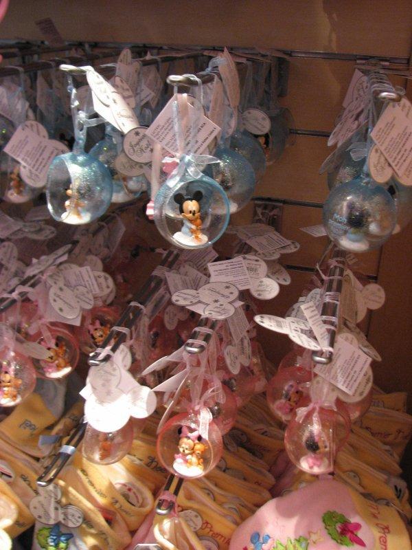Disneyland 26 septembre 2010 - nouvelle déco bébé noel