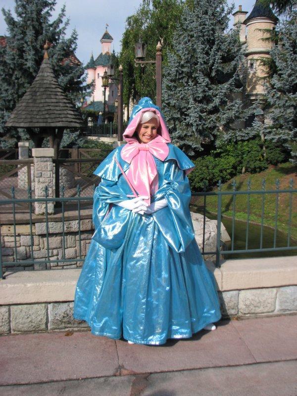 Disneyland 3 octobre 2010 - Marraine