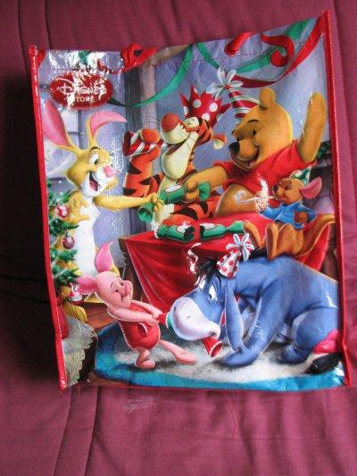 Disney Store - grand sac réutilisable noel