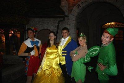 Disneyland 31 octobre 2010 - avec Pinocchio, Peter Pan et Clochette