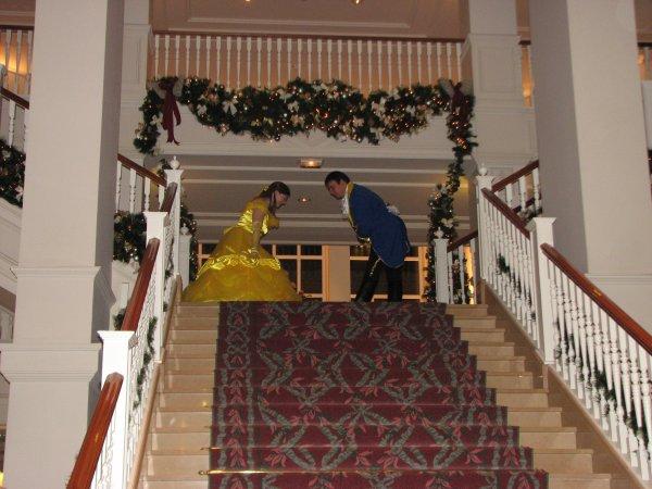 Disneyland 31 octobre 2010 - révérence