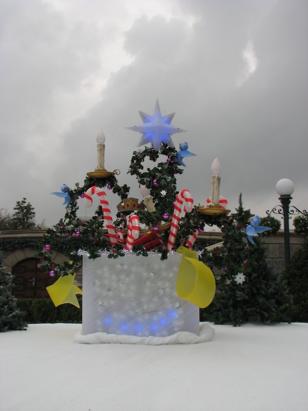 Disneyland 7 novembre 2010 - déco central plaza