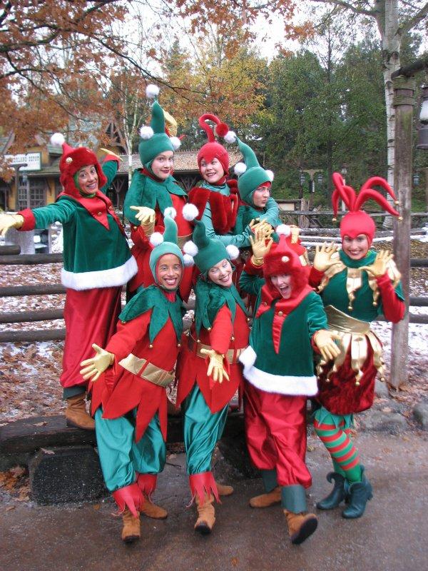 Disneyland 7 novembre 2010 -  les elfes