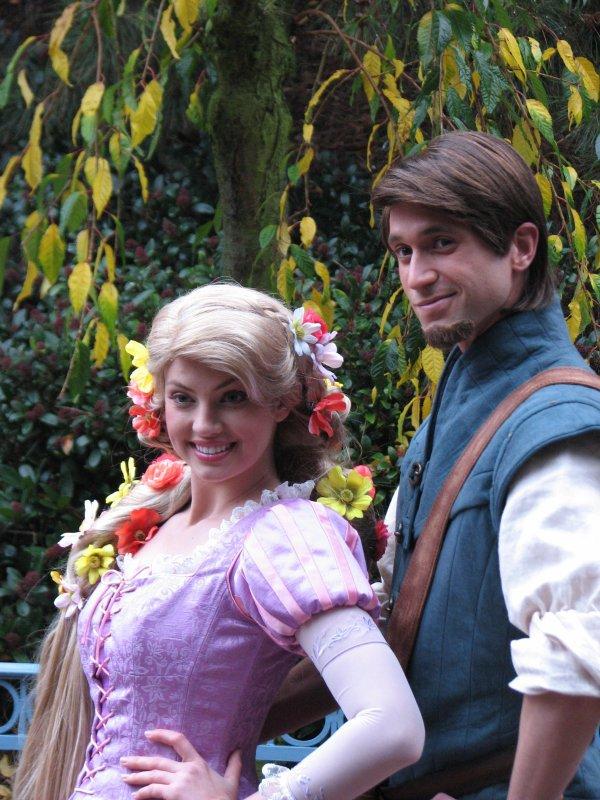 Disneyland 7 novembre 2010 - Raiponce et Flynn