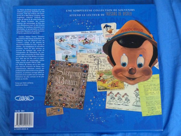 Cadeau de Noël parents - livre trésors Disney