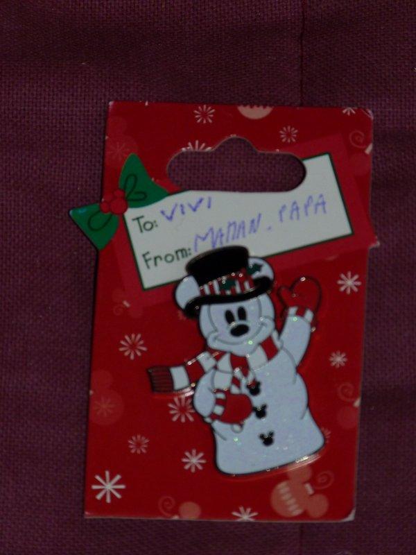 Cadeau de Noël parents - pin's