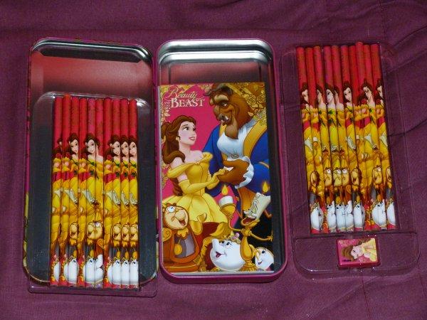 Cadeau de Noël Antoine - boite à crayons