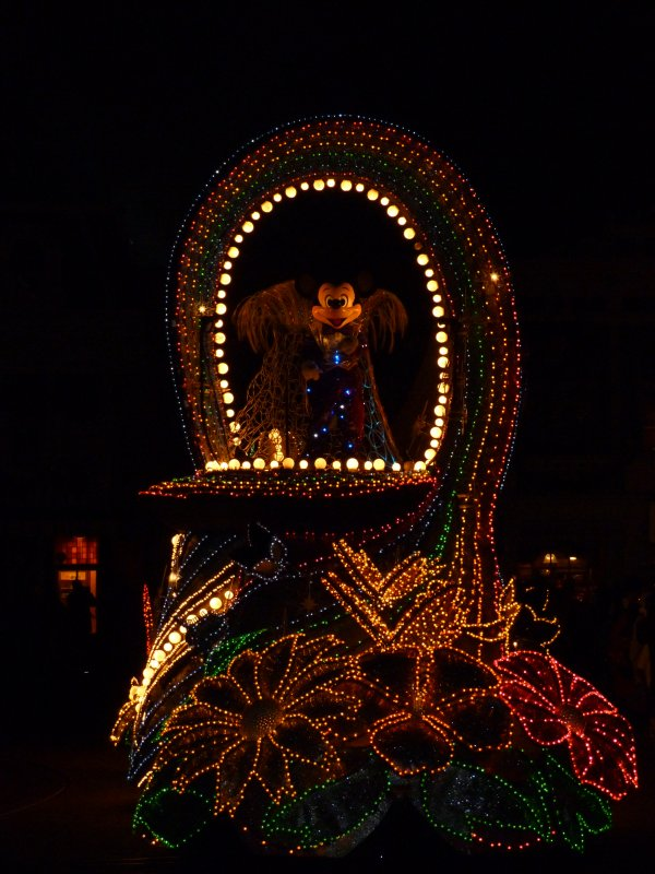 Disneyland 31 décembre 2010 - Mickey fanti