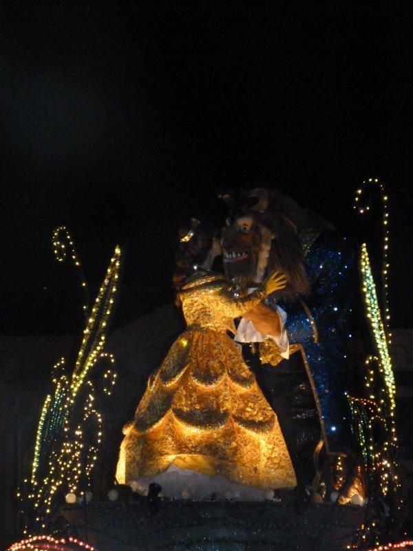 Disneyland 31 décembre 2010 - Belle et bête