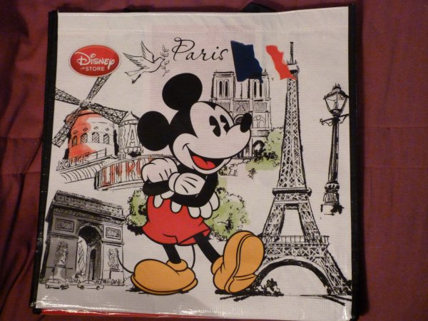Disney Store - sac réutilisable Paris