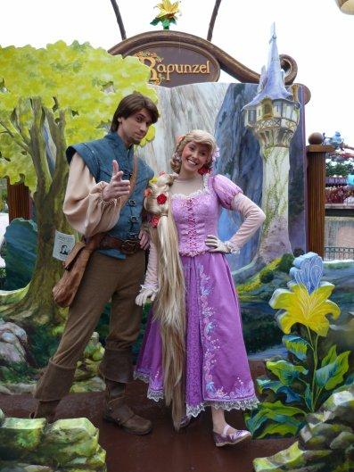 Disneyland 3 avril 2011 - Photolocation Raiponce