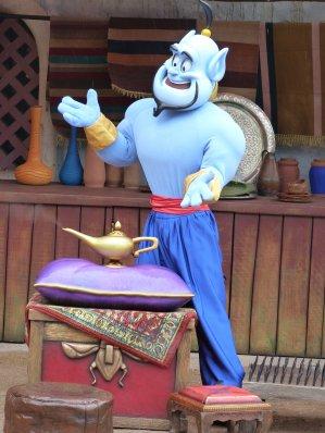 Disneyland 3 avril 2011 - Photolocation La lampe Magique d'Aladdin