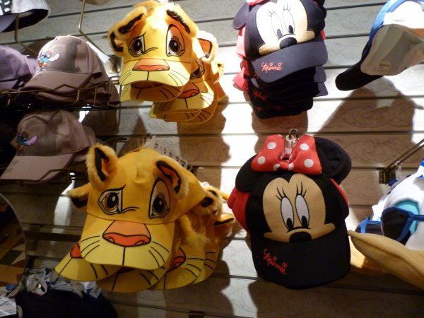 Disneyland 3 avril 2011 - shopping