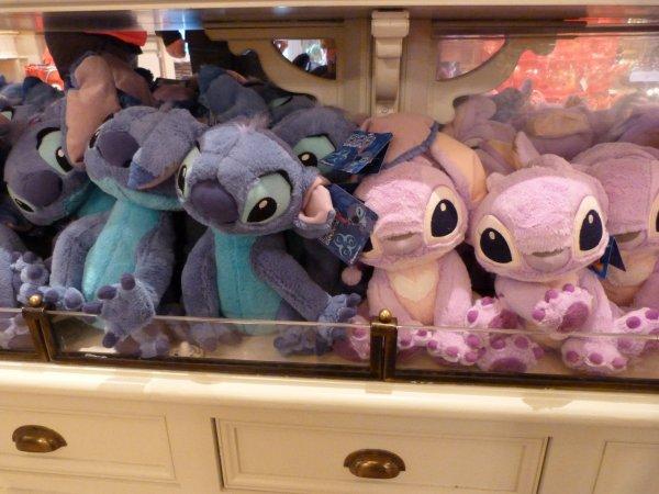 Disneyland 3 avril 2011 - Shopping !