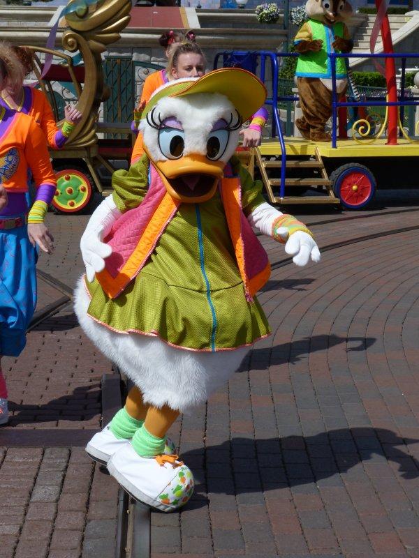 Disneyland 10 avril 2011 - Disney Dance Express
