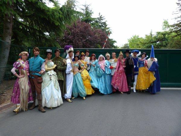 Disneyland 24 avril 2011 - photo de groupe
