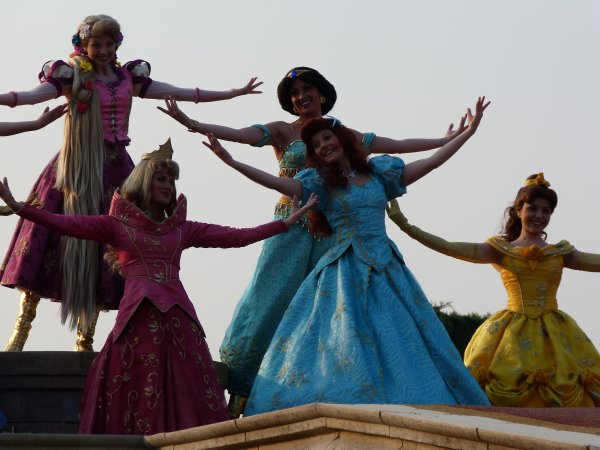 Disneyland 25 avril 2011 - célébration magiques