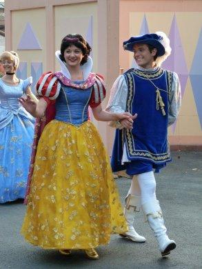 Disneyland 25 avril 2011 - couples princiers