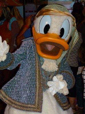 Disneyland 1 juin 2011 - Mickey, Minnie, Dingo, Donald en pirates