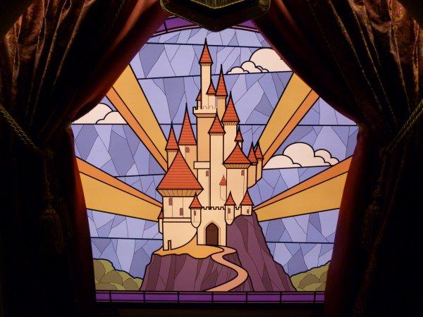 Disneyland 15 octobre 2011 - Pavillon des Princesses