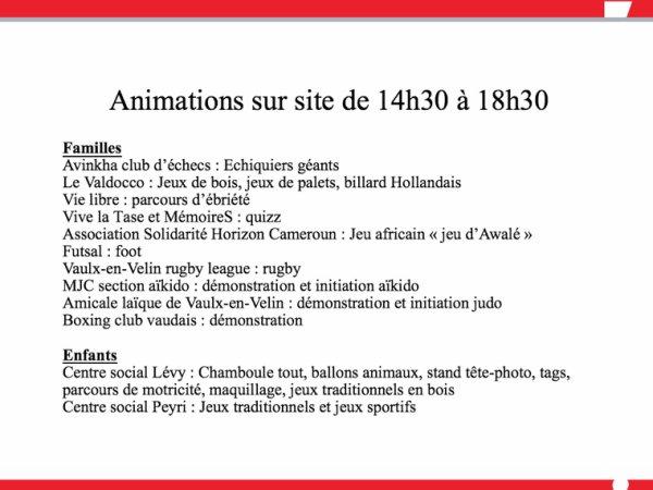 2�me FORUM DES ASSOCIATIONS LE 10 SEPTEMBRE AU PARC ELSA TRIOLLET