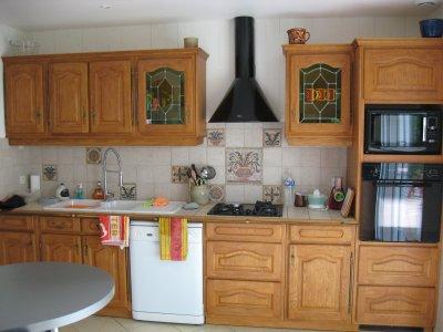 cuisine enti rement r nov e par mes clients avec el onore. Black Bedroom Furniture Sets. Home Design Ideas