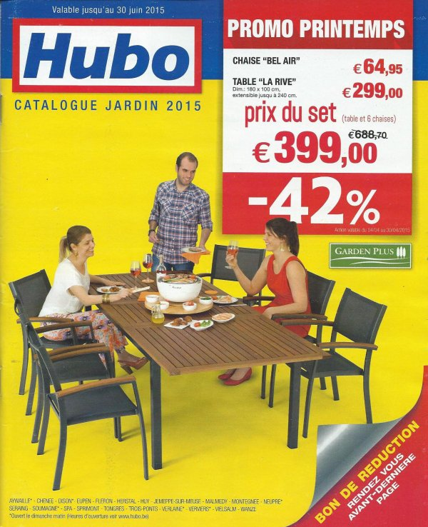 Vu dans le catalogue jardin 2015 de hubo ile de for Catalogue jardin 2015 honda